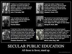Establishment Clause of the First Amendment.  Do you speak it?