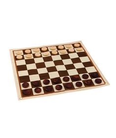 Outdoor Chess & Checkers Set