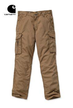 PANTALON CARGO FORCE® CARHARTT - 101148 Pantalon de travail Cargo Force® 100% coton armé Ripstop avec renforts Existe également en Noir