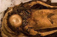 Mummified Peruvian Human Sacrifice