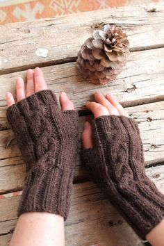 Your place to buy and sell all things handmade Fingerless Gloves Knitted, Crochet Gloves, Crochet Wrist Warmers, Arm Warmers, Winter Trends, Winter Accessories, Thoughtful Gifts, Hand Knitting, Wool