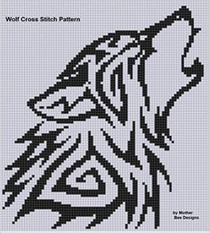 Amazon.com: Wolf Cross Stitch Pattern eBook: Mother Bee Designs: Kindle Store