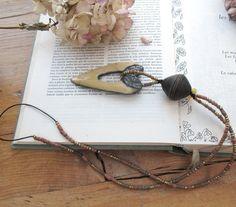 Le Temps Des Certitudes : un collier pour lui dévoiler vos sentiments avec ce coeur en céramique raku .... : Collier par les-reves-de-minsy