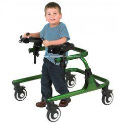 Caminador infantil TREKKER, amplia gama de accesorios, varias tallas ,se puede utilizar en los 2 sentido de marcha.Regulable en altura.