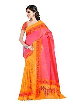 Fabdeal Indian Wear Pink & Yellow Linen Silk Printed Saree Fabdeal http://www.amazon.com/dp/B00KU1N6R8/ref=cm_sw_r_pi_dp_QYp3tb1Y38YNX0CR