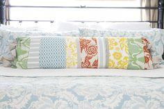 handmade patchwork pillow | the handmade home
