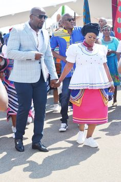 Venda and Pedi traditional wedding #mahlabiso