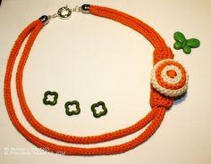 Tricotin necklace by Mi Girano i Gomitoli