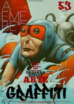 AEMEBE 53AEMEBE edição 53 PIXEL JUICE, DMS, OS GÊMEOS e muitas outras inspirações urbanas, street arte GRAFFITI.