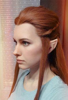 Tauriel #Elf #Makeup #Hobbit by Karenscarlet.deviantart.com