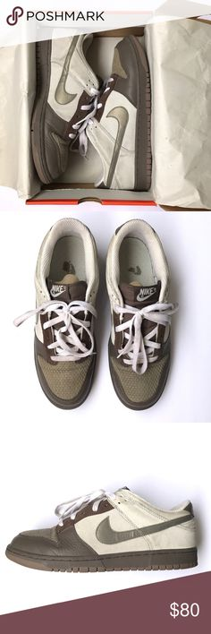 Nike Dunk Low CL Size 12 Nike Dunk Low CL Size 12. Pre-owned, still in great condition. With good cleaning will be like new! Color: Ironstone Bronzed Olive Gray. Original box included! 304714 091 Nike Shoes