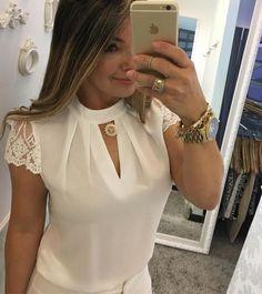 """180 Likes, 1 Comments - POLLY (@pollybyfabyolaolmo) on Instagram: """"Hoje é dia de blusas blusa 139,90 M G ⚜️VENDEMOS PRA TODO BRASIL ❤️️FAÇA SEU PEDIDO PELO…"""""""