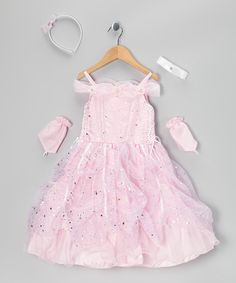 Take a look at this Pink Star Pick-Up Dress Set - Infant, Toddler & Girls by Tip Top Kids on #zulily today!