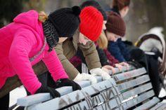 LAUFMAMALAUF - Kinderwagen-Kurs im Winter