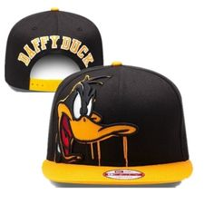 daffy duck snapback hat Looney Tunes cartoon for sale online 3a41cdff760d