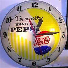 Pepsi Cola Wall Clock