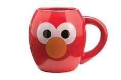 Vandor 32261 Sesame Street Elmo Oval Ceramic Mug, Red, Elmo World, Elmo Sesame Street, Elmo Birthday, I Love Coffee, Mug Shots, Mug Cup, Cool Gifts, Coffee Cups, Mugs