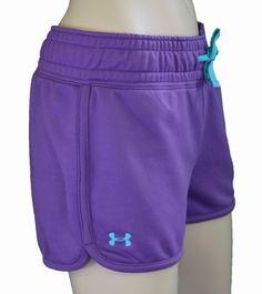 Under Armour Women's UA Trophy Shorts Purple « Impulse Clothes