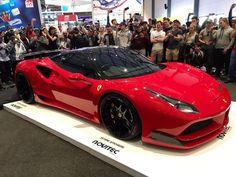 @race1_ has revealed their second build and it's the epic Novitec N-Largo Ferrari 488 GTB via @sandtonsupercars #ExoticSpotSA #Zero2Turbo #SouthAfrica #Ferrari #488GTB #Novitec #NLargo