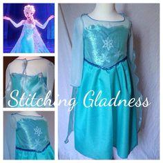 Frozen Elsa Dress Up Dress. Queen Elsa. by StitchingGladness, $65.00