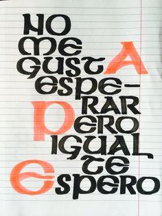 """#musiquitarica #calamaro #tequiero #igual  """"no me gusta esperar, pero igual te espero"""""""