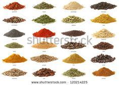 spice names and pictures - Google Search