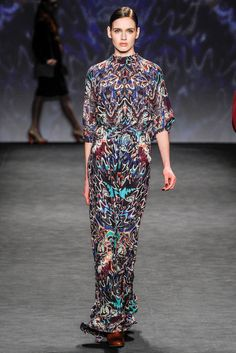 Vivienne Tam - Fall 2014 Ready-to-Wear