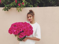 "86.6k Likes, 286 Comments - Taylor Hill (@taylor_hill) on Instagram: ""Big day tomorrow with my @lancomeofficial family  thanks for the flowers and the warm welcome to…"""
