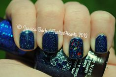 Fourth of July nails 2013 by TartanHearts, via Flickr