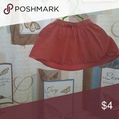 Crazy eight skirt Pink skirt with bow at the waistline Crazy eight Bottoms Skirts