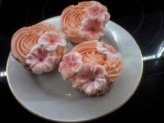Cupcakes de Crema de Naranja.