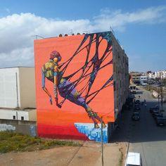 DEIH in Rabat. #deih #JIDAR #streetart #Moroco
