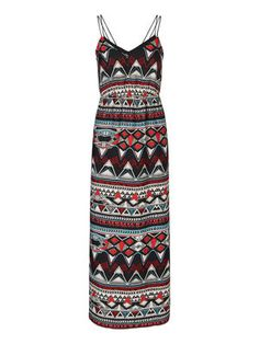 Sleeveless Patterned Maxi dress - Vero Moda f6dc5bebf0