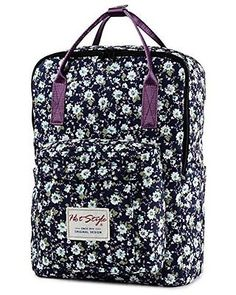 [HotStyle Fashion Printed] Bestie Cute Floral Laptop Backpack for School Girls | eBay