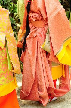 https://flic.kr/p/7YyncQ | 斎王代女人列御禊 Women dressed in junihitoe