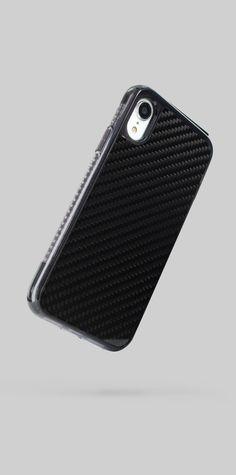 63e70b133b6f02 Proporta Flex Switch Case for iPhone XR - Carbon Fibre