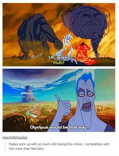 Ha, Hades is the brains of the monsters