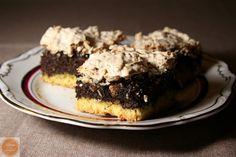 Kruche ciasto z makiem i bezą kokosową | The taste of sweet; - poppy seed and coconut -converting to gluten free and ridding of coconut meringue cake