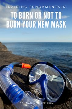 Some divers recommend that you burn your new mask to remove the protective film and alleviate fogging. But is that safe or wise? Dive instructors often encourage new students to purchase a mask. The comfort and confidence that comes with wearing their own mask helps them feel more comfortable in the water, less distracted and more capable of dealing with the task-loading that learning a new skill entails. #scubadiving #divingtraining #divingfundamentals #scubadivingfundamentals #divingmask Best Scuba Diving, Scuba Diving Gear, Technical Diving, Scuba Diving Equipment, Long Lights, Learn A New Skill, Ideal Tools, Water Droplets, New Students