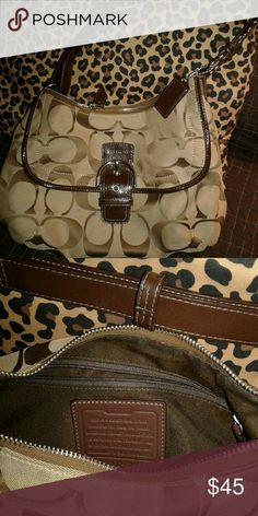 Coach purse Coach purse just like new no rips, stains. Non smoker and no pets. Coach Bags Shoulder Bags