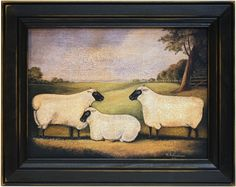 Products - Ohio Home Decor Primitive Quilts, Primitive Sheep, Primitive Folk Art, Primitive Crafts, Country Primitive, Sheep Drawing, Sheep Paintings, Primitive Painting, Sheep Art