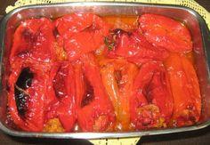 Crvene paprike punjene krompirom