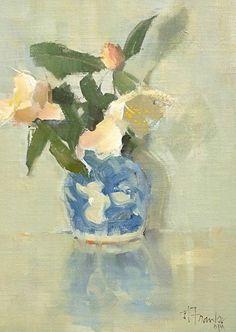 Sincerity by Nancy Franke Oil ~ 16 x 12