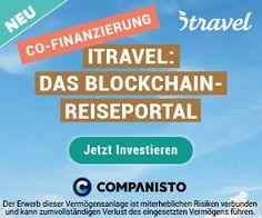 """Um 13 Uhr ist itravel auf Companisto gestartet.Bereits jetzt mit namhaften Co.-Investoren und Business Angel auf der Erfolgsspur,da """"ALLEINSTELLUNGSMERKMAL"""" derzeitig aufgrund dieser Technik,vorhanden ist.Du brauchst das klassische Reisebüro/Portal so nicht mehr!"""