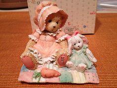 "40% off  ~ Faith ""There's No Bunny Like You"" 1993 Retired Cherished Teddies Figurine   eBay"