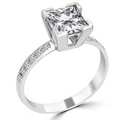Diamonds at Bonanza - Jewelry & Watches, Diamond, Earrings Diamond Hoop Earrings, Diamond Pendant, Stud Earrings, Yellow Diamond Engagement Ring, Ring Size Guide, 14 Karat Gold, Earring Set, Jewelry Watches, White Gold