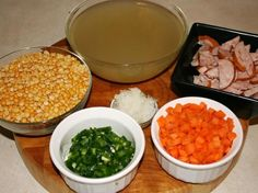 Celebrate Springtime at Downton Abbey with the classic Edwardian Yellow Split Pea and Smoked Sausage Soup. The FREE recipe and how-to pictures at the facebook page called The Food of Downton Abbey!