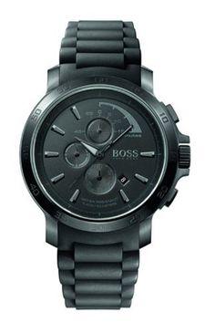 Vous recherchez une montre Hugo Boss ? Découvrez nos meilleures ventes.  Hugo Boss - 1512393 - Montre Homme - Quartz Analogique - Cadran Noir - Chronographe - Bracelet Caoutchouc Noir de Hugo Boss, http://www.amazon.fr/dp/B002KQK7XM/ref=cm_sw_r_pi_dp_X4ljsb16201TM
