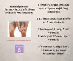 doTerra receptek - Ízületi fájdalomra Doterra, Doterra Essential Oils