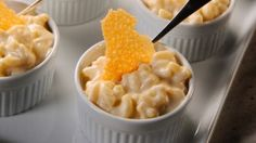"Macaroni and Cheese with Mornay Sauce on the ""Sauces"" episode of ""Martha Stewart's Cooking School."""